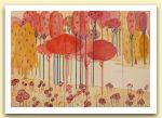 Miriam Bizioli 6, stilizzazione di una foresta, acquerello.jpg