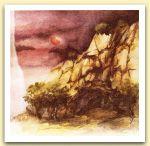 Clementina Macetti, La rupe di Saffo, acquerello.jpg