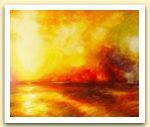 Clementina Macetti  Incendio sul mare, acrilico su tavola.jpg