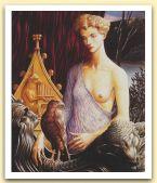 La Scala di Oro, 1990 Olio su tela, cm 120x100.jpg