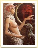 Salome`, 1991 Olio su tela, cm 90x70.jpg