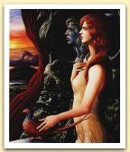 Nostra Signora della Notte, 1989 Olio su tela, cm 110x90.jpg