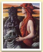 Ritratto dell`Artista col suo Demone, 1983 Olio su tela,cm 1.jpg