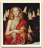 Ritratto di Selvaggia,1994 Olio su tela, cm 100x90.jpg