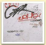 BARRILE  PAOLO GRAFFITO 1505 - 2005  acrilici su tela  cm 100 x 100.jpg