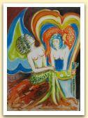 L.M.B.-la sirena turchina-2006-olio su tela-cm 70x50.JPG