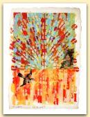 Il cavar del sole, tempera su carta 1995, cm 46x32.jpg