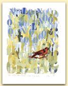 Nostalgia di un canto, tempera su carta 1994, cm 46x32.jpg