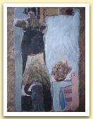 27-Fumatori, tecnica mista su carta amate 40x28,50 cm. 1983.jpg