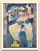19-Donna che grida, tecnica mista su carta amate, 40x28,50 cm. 1983.jpg