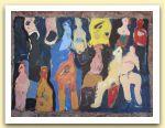 31-Gruppo umano, tecnica mista, 56,50x41 cm. 1983.jpg
