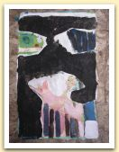 12-Bambino, tecnica mista su carta amate, 40x28,50 cm. 1983.jpg