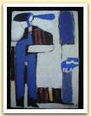 7-Donna in blu, 26,50x18 cm, tecnica mista su legno, 1984.jpg
