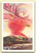 Frammento d`un viaggio con cielo rosso - 1988.JPG