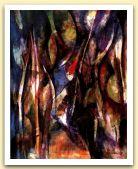 Zafferana Emmaus, 1995, Tecnica mista su tela, cm 50x40.jpg