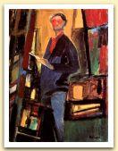 Autoritratto, 1960, Olio su tele, cm 40x30.jpg