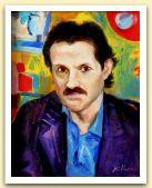 Ritratto di Ugo Entita`, olio su tela cm 50x40,  1985.JPG