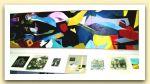 La morte di Arlecchino, 2005. Olio su tela.JPG