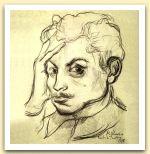 Autoritratto, 1938, Matita, cm 27x20,2.jpg