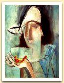 Maschera, 1985, Acrilico su tela, cm 40,5x30.jpg