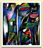 Fiori nel giardino, 1976, Olio su tela, cm 75x64,5.jpg