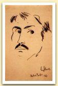 Autoritratto, 1967, Pastello nero, cm 34,2x23,8.jpg