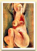 Cariatide n. 2, 1968, Olio su carta, cm 100,5x69.jpg