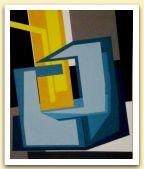 21-Penetrazione del giallo, acrilici su tela, 1981, cm 91,5x111,5.JPG