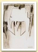 19-Studio, matita grassa su carta 1983, cm 23x16,6.jpg