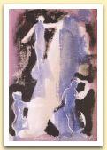 Trancia di tessuto mediterraneo I, 1999, tempera su carta Fabriano Roma, cm 24,5x16,5, collezione privata, Zurigo.jpg