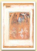 Dare, Dell`incontro di mezza estate, 1988, tempera e acquerello su carta di vecchio registro, cm 33,5x23,5, collezione Ferney-Voltaire.jpg