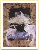Uccelli e nuvole, 2006, tempera e china su carta Aetna, cm 68 x51.jpg